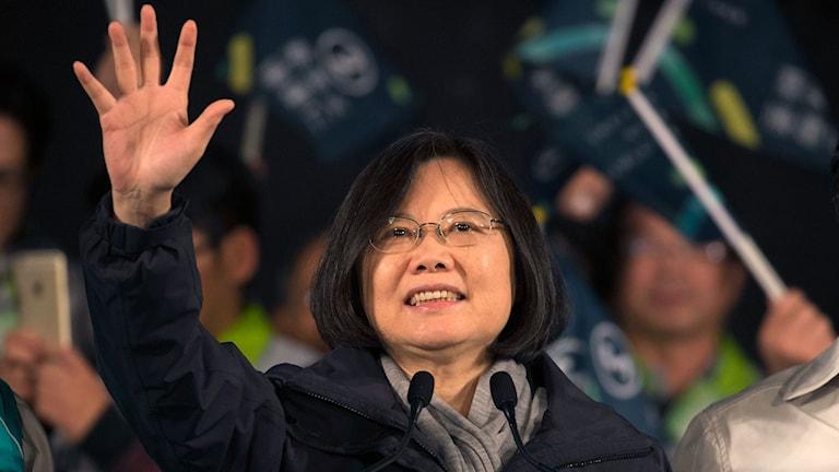 Tsai Ing-wen. Foto: AP Photo/Ng Han Guan/ TT.