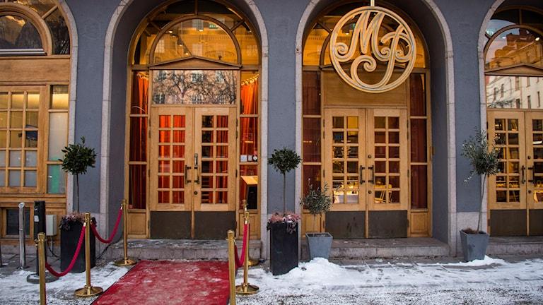 Exteriörbild Kommunals restaurang Metropol Palais. Foto: Marcus Ericsson/TT.