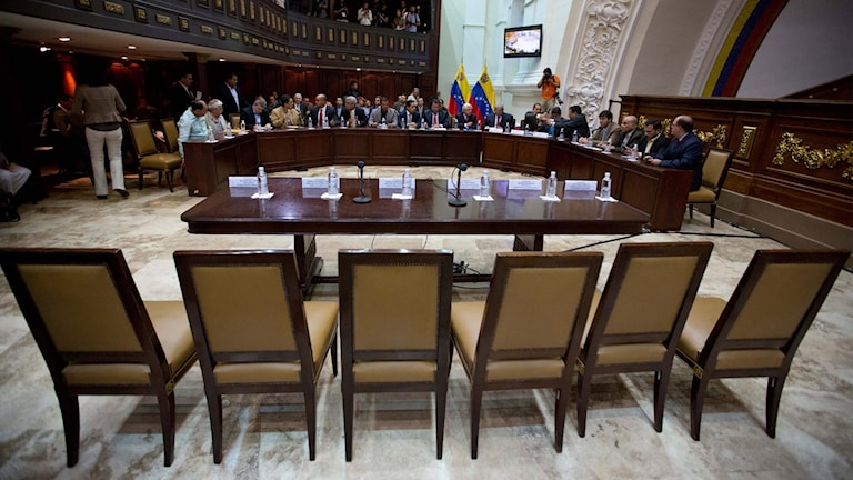 Nationalförsamlingen i Venezuela. Foto: Fernando Llano/TT.