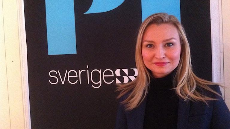 Ebba Busch Thor. Foto: My Rohwedder/Sveriges Radio.