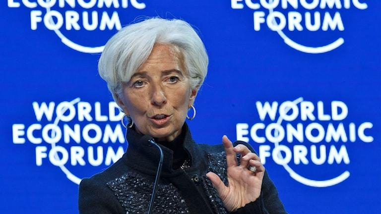 Christine Lagarde. Foto: Michel Euler/TT.