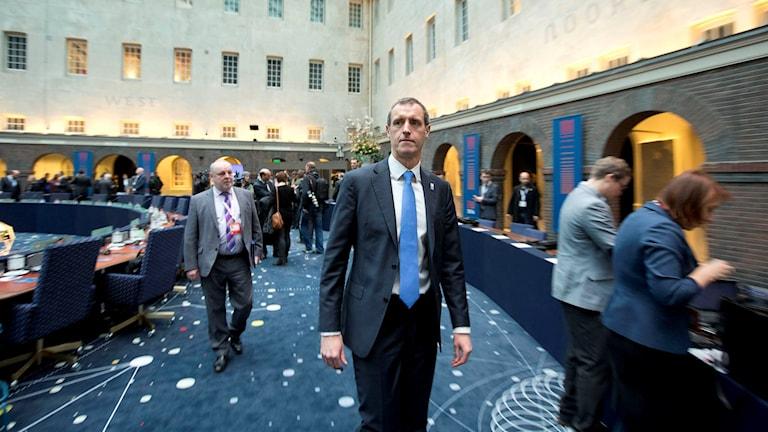 Rob Wainwright, chef för Europol. Foto: Peter Dejong/TT.