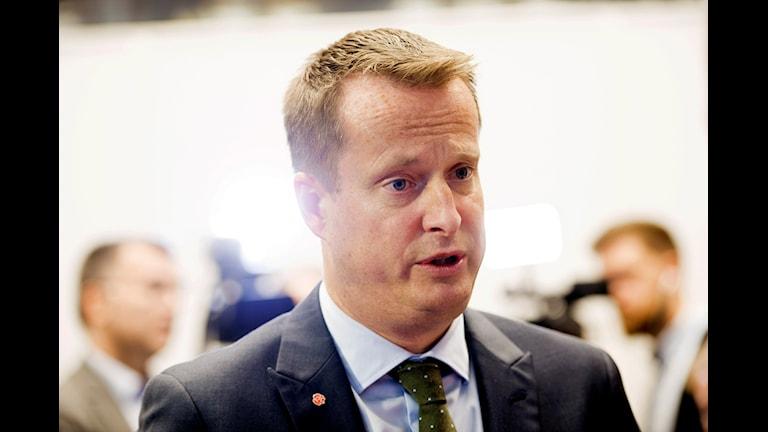 Inrikesminister Anders Ygeman (S). Foto: Henrik Montgomery / TT.