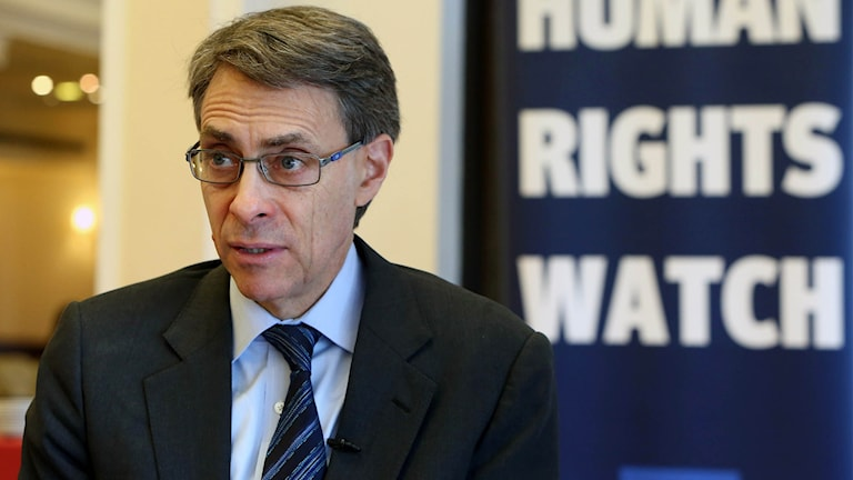 Kenneth Roth är vd för Human Rights Watch