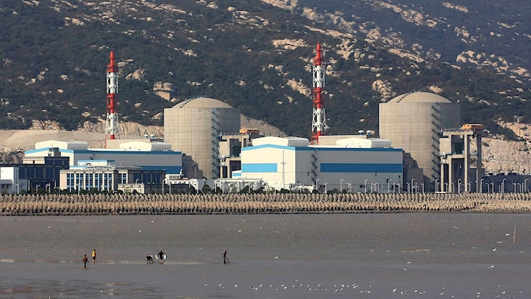 Ett kärnkraftverk i östra Kina.Foto: AP