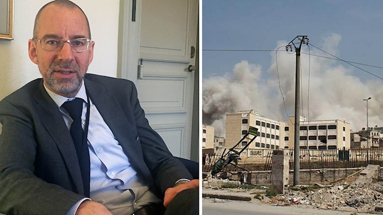 Niklas Kebbon är Sveriges särskilda sändebud för Syrienkrisen. Foto: Katja Magnusson, Sveriges Radio & TT.