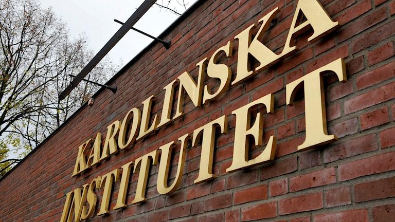 Karolinska institutet i Solna. Foto Bertil Ericson/TT.