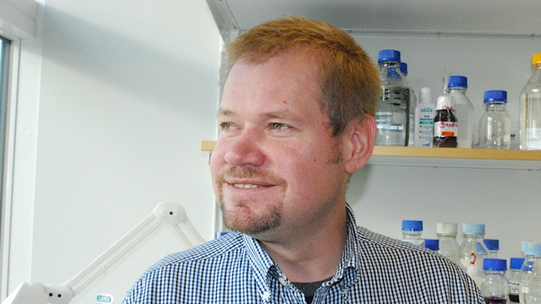Virusforskaren Magus Johansson vid Örebro Universitet. Foto: Örebro Universitet