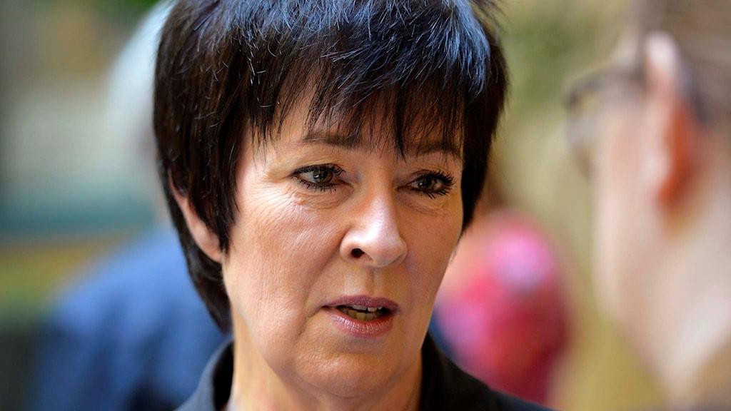 Mona Sahlin, den nationella samordnaren mot våldsbejakande extremism.