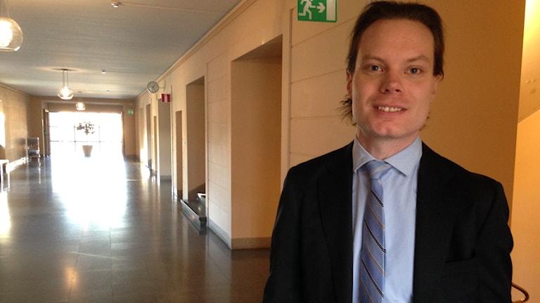 Martin Kinnunen i Sveriges riksdag.