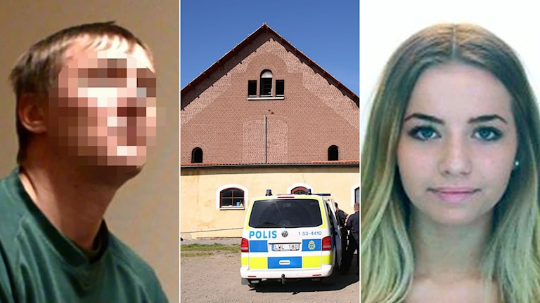 The court did not believe an alibi by the man sentenced for the murder of Lisa Holm. Photo: Sveriges Radio, Björn Larsson Rosvall/TT/Polisen.