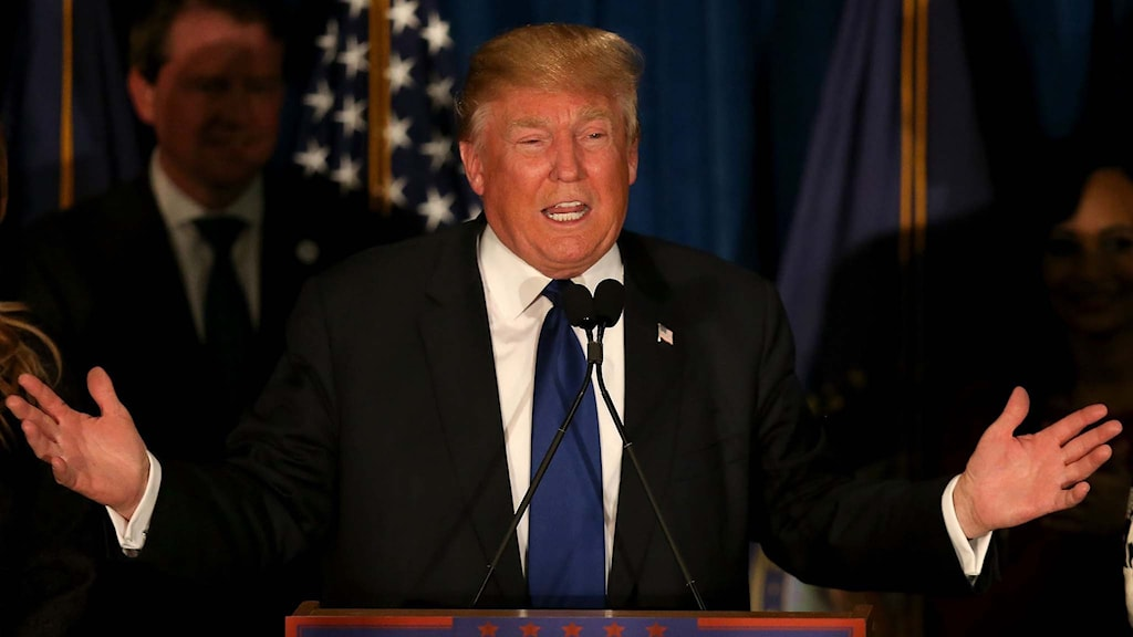 Republikanske presidentkandidatsaspiranten Donald Trump.