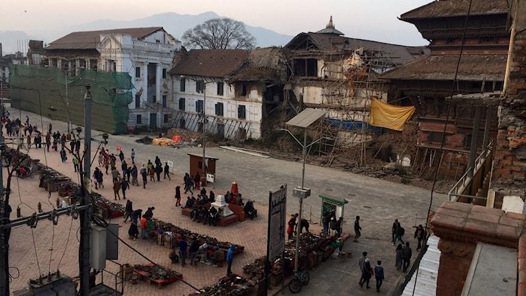 Nepal 10 månader efter jordbävningen.