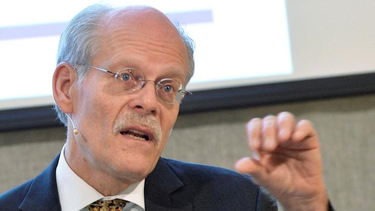 Riksbankschefen Stefan Ingves. Foto: Jonas Ekströmer/TT.
