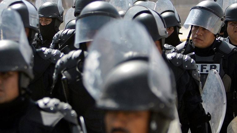 Vakter i fängelse i Mexiko