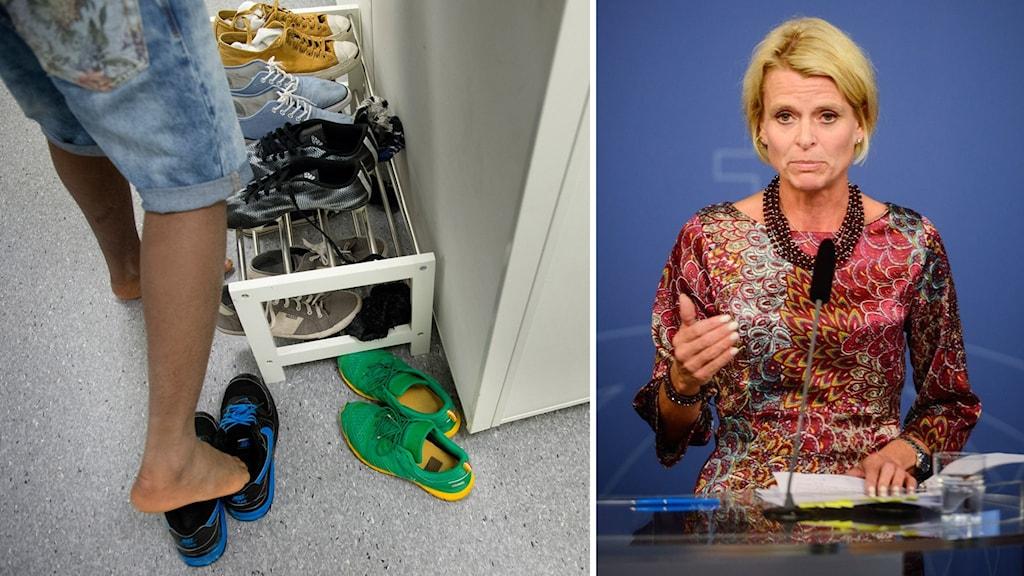 Barn-, äldre- och jämställdhetsminister Åsa Regnér (S)