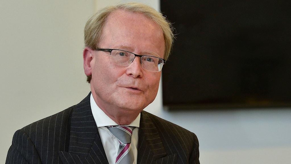 Anders Hamsten avgår som rektor för Karolinska institutet. Foto Jonas Ekströmer / TT