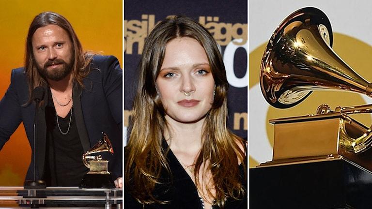 Max Martin och Tove Lo är några av de som har chans att vinna Grammys i natt. Foto:TT