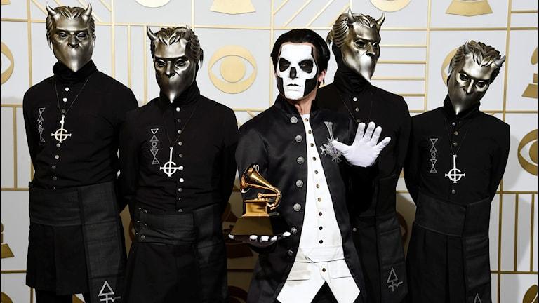 Bandet Ghost.