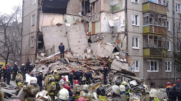 Flera döda i en gasolycka i ryska Jaroslav