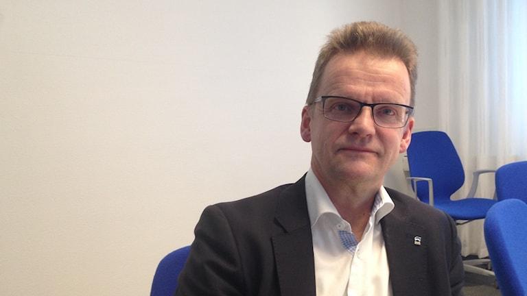 Markus Petäjäniemi, marknadschef LKAB.