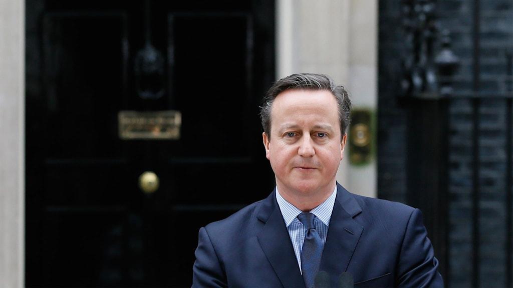 Storbritanniens premiärminister David Cameron.