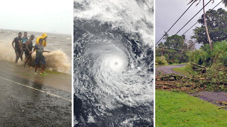 Efter värsta orkanen i Fijis historia råder undantagstillstånd och alla skolor kommer hålla stängt.