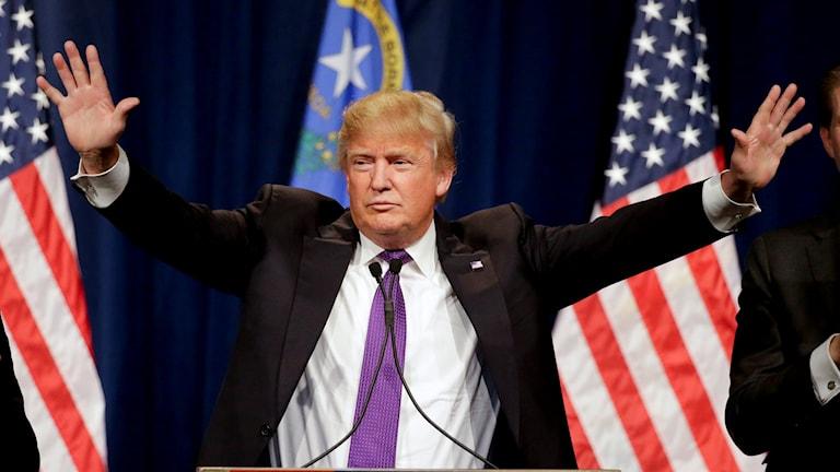 Trump är segerviss efter vinsten i Nevada.
