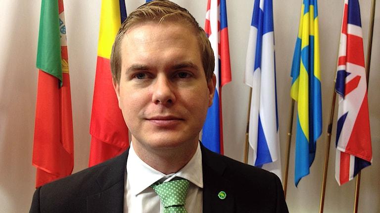 Utbildningsminister Gustav Fridolin (MP)