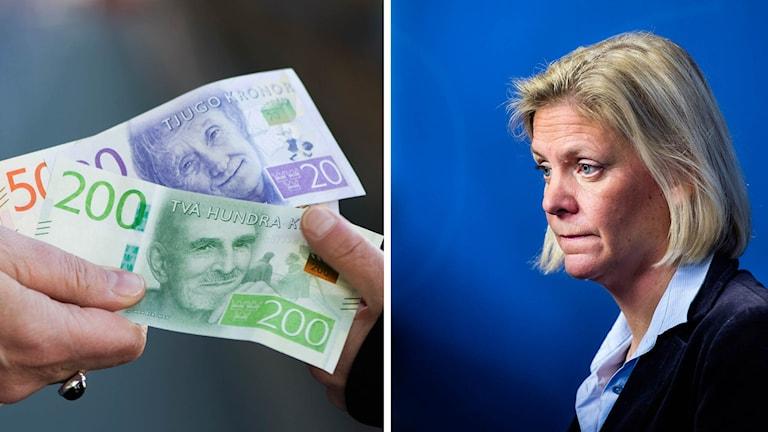 Finansminster Magdalena Andersson.