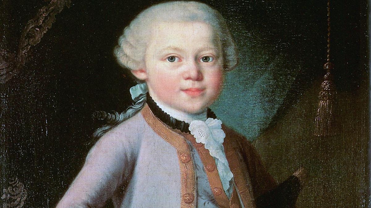 Som liten skrev Mozart siffror och uträkningar överallt.