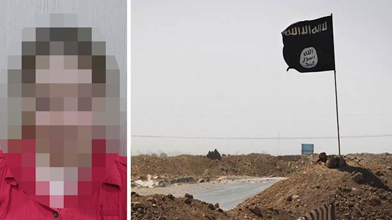 16-årig flicka är fritagen från IS och är hemma i Sverige igen Foto: Office of The Chancellor Kurdistan Region Security Council