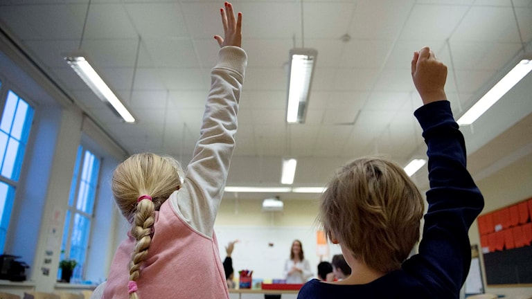 Could giving more information make Sweden's schools better? File photo: Jessica Gow / TT.