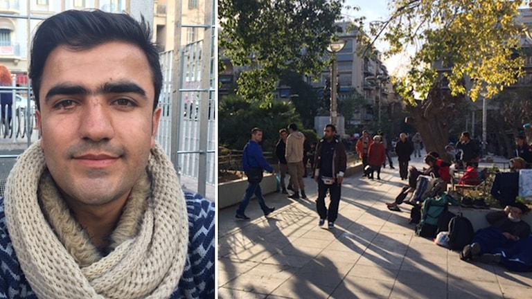 Dawhid på flykt från Afghanistan vägrar att tro att Europas gränser är stängda.