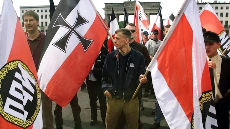 Inte sedan 50-talet har partiförbud utfärdats i Tyskland.