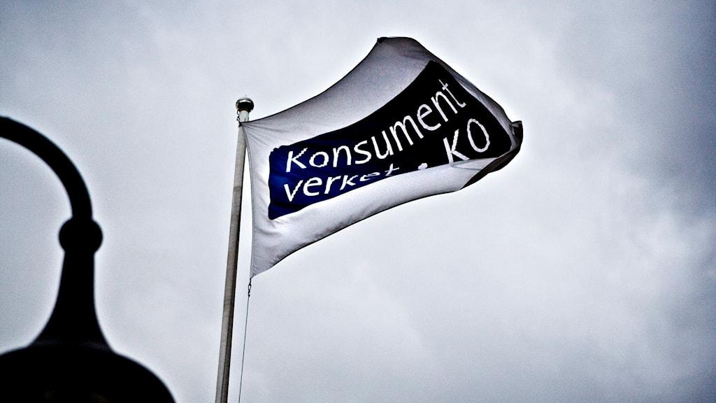 Konsumentverkets flagga.