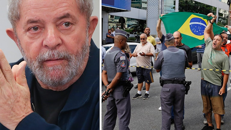 Lula da Silva, demonstranter