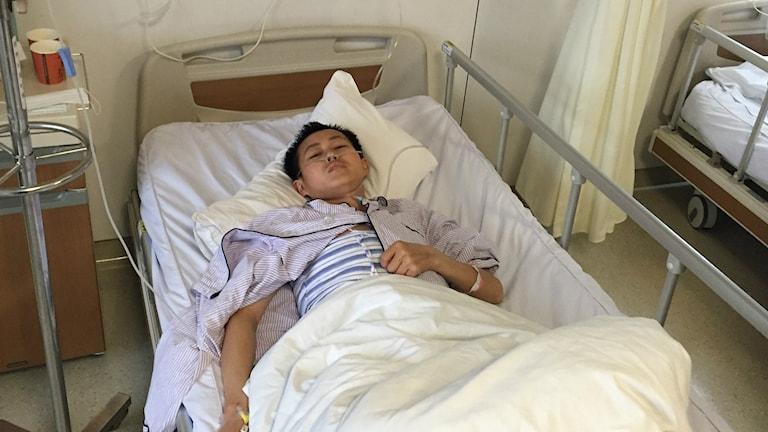 Wang Ai har opererats för levertumör