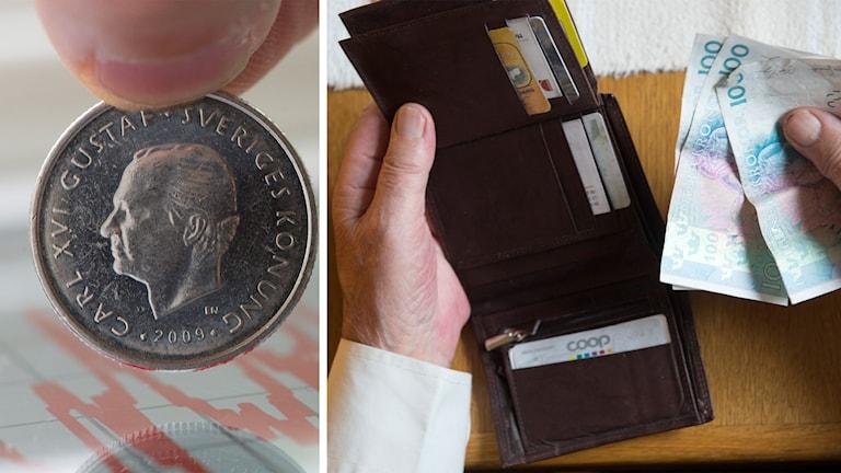 pengar konsumtion plånbok