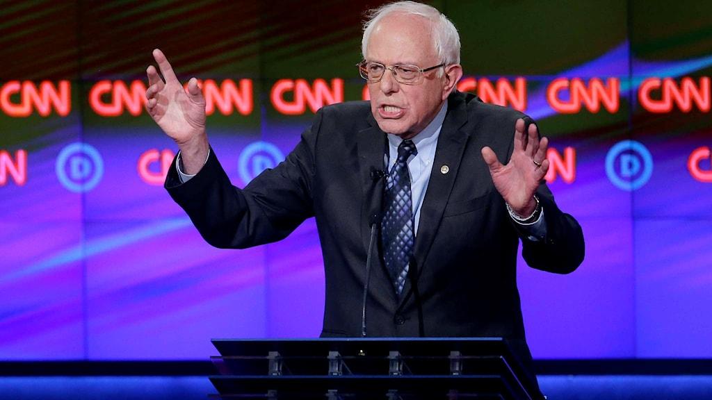 Demokratern Bernie Sanders.