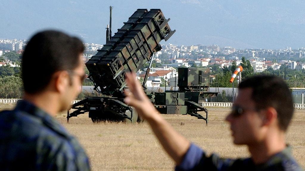 Arkivbild. Patriot System är ett högteknologiskt avancerat luftvärn.
