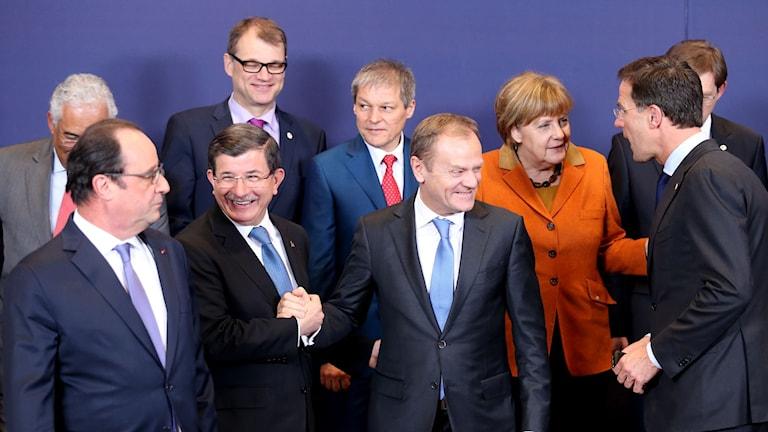 EU-ledare.