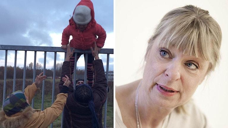 Gudrun Antemar kritiserar förslaget om skärpning av utlänningslagen.