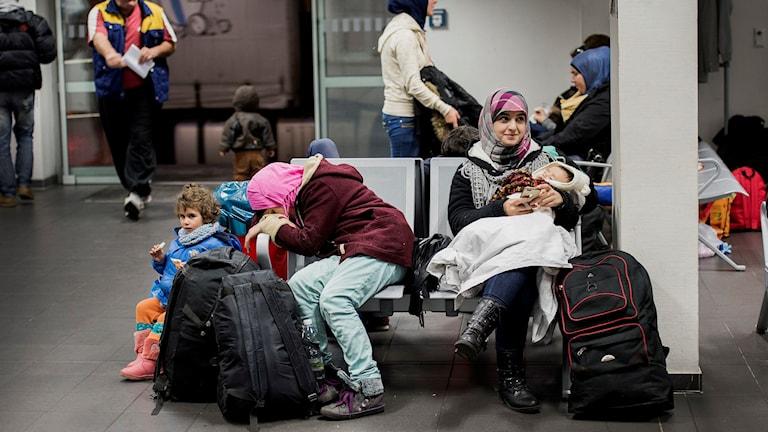 Flyktingar som registrerats i Tyskland, men inte formellt sökt asyl, och sedan tagit sig vidare till Sverige tas inte längre emot av Tyskland om de sänds tillbaka. Arkivbild.
