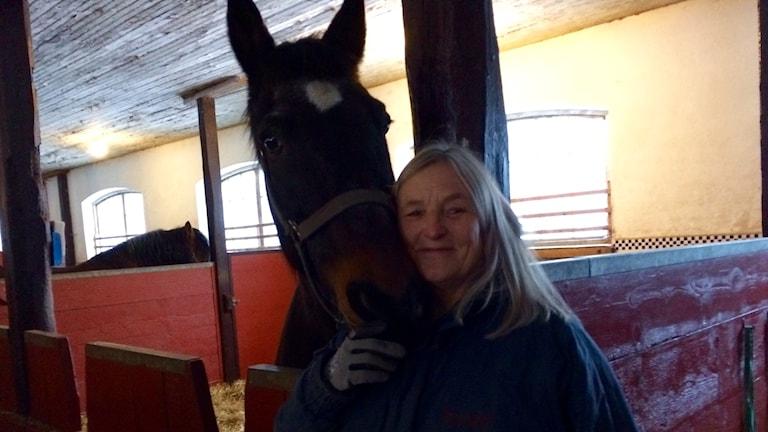 Margareta Bendroth, hästrådgivare, Hushållningssällskapet Sjuhärad.