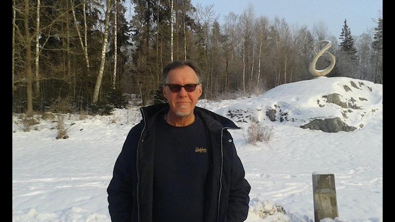 Peter Ericsson är chef på Solberga By internat i Järna