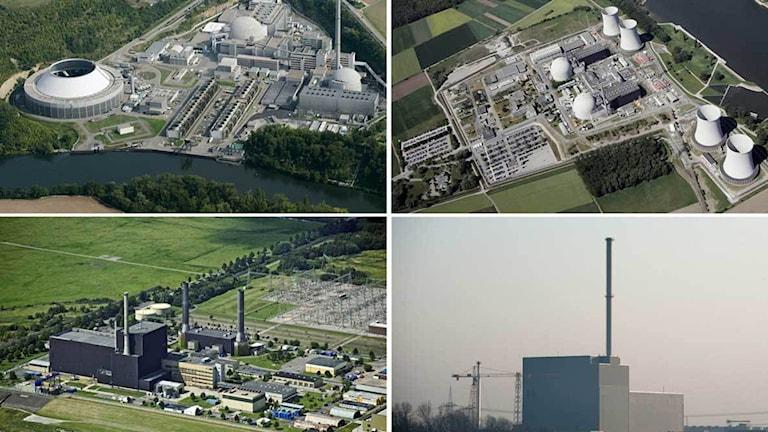 Tyska kärnkraftverk