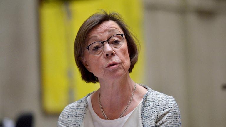Kabinettssekreterare Annika Söder