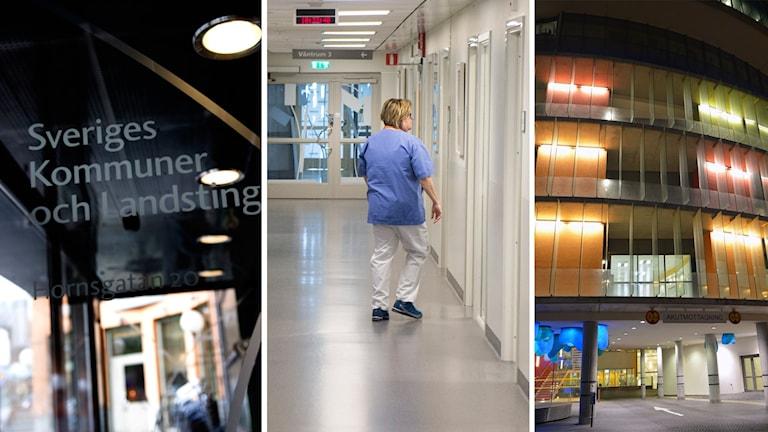 SKL, sjukvårdspersonal och Malmö sjukhus