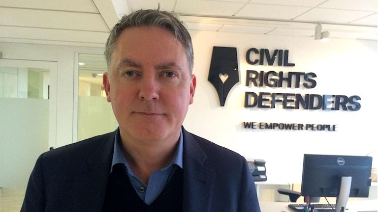 Robert Hårdh, chef för Civil Rights Defenders. Foto: Markus Alfredsson